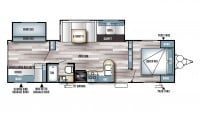 2017 Salem 28CKDS Floor Plan