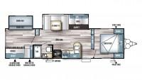 2017 Salem 28CKDS Floor Plan