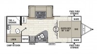 2019 Freedom Express 231RBDS Floor Plan