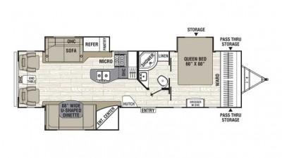 Freedom Express Liberty Edition 293rlds Floor Plan 2016