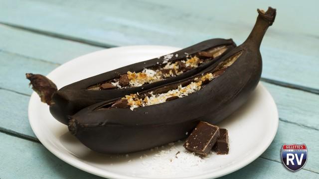 Grilled Banana Smores