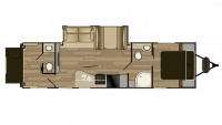 2017 Shadow Cruiser 289RBS Floor Plan