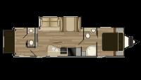 2017 Shadow Cruiser 289RBS Floor Plan