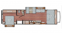 2017 Conquest 6320 Floor Plan