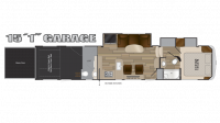 2017 Cyclone 4115 Floor Plan