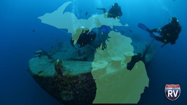 Michigan Great Lakes Subadivers And Shipwrecks