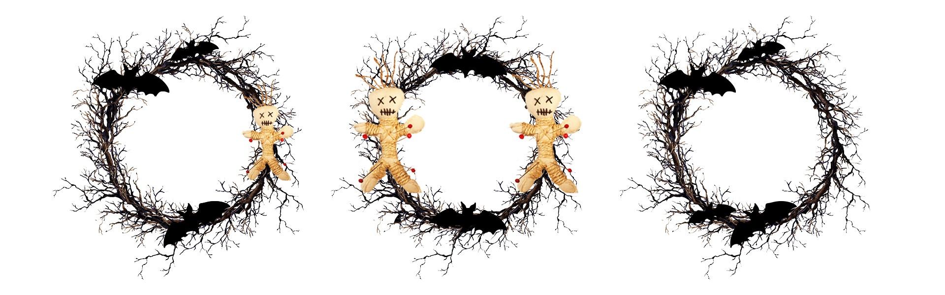 stick wreaths