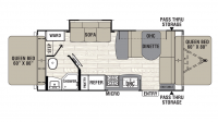 2018 Freedom Express 22TSX Floor Plan