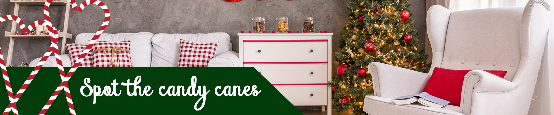 Spot the candy canes - Games to play this holiday season