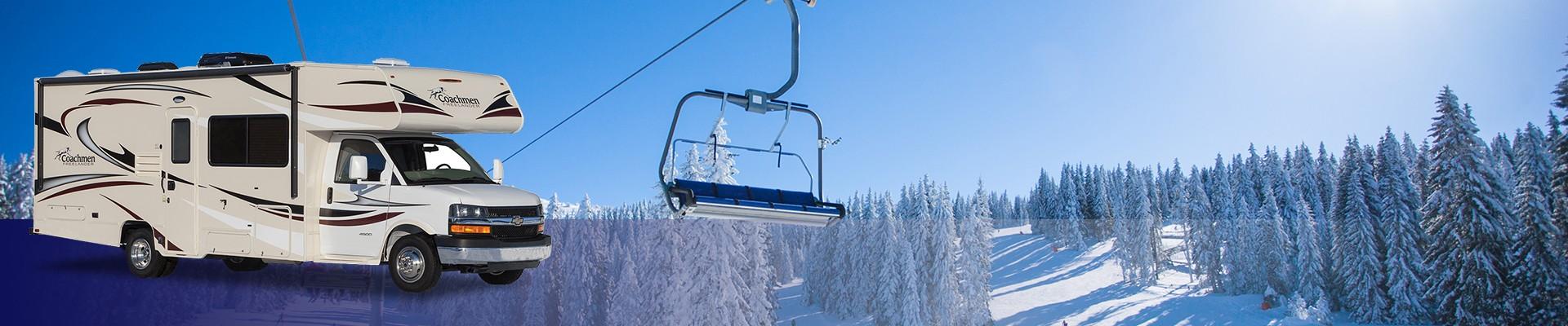 RVs good for skiers - Coachmen Freelander 21QB