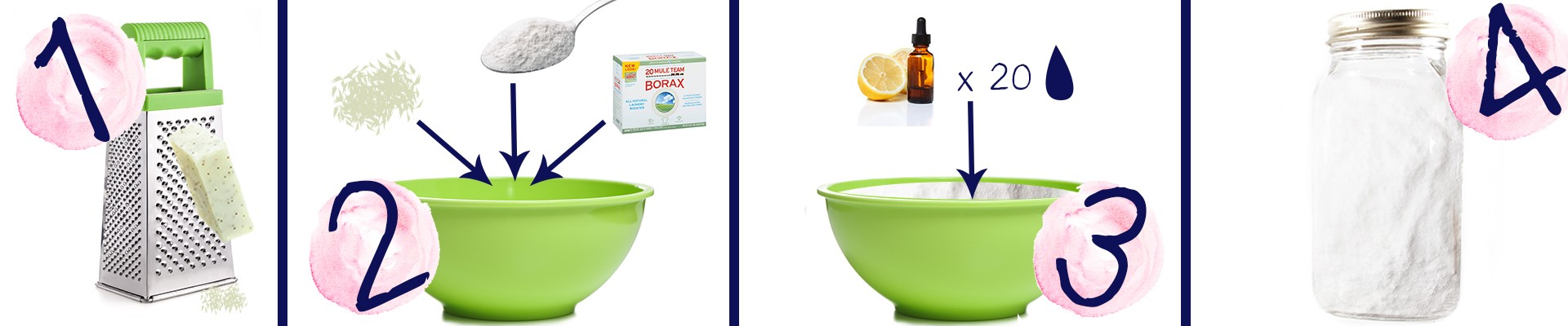 Homemade laundry detergent how-to