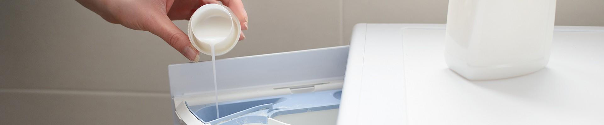 Using your homemade fabric softener