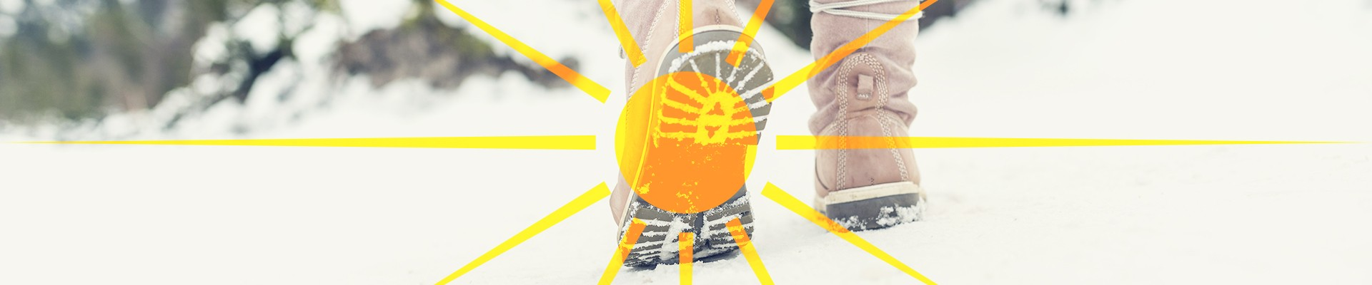 Take a mid-day walk in the sun during winter
