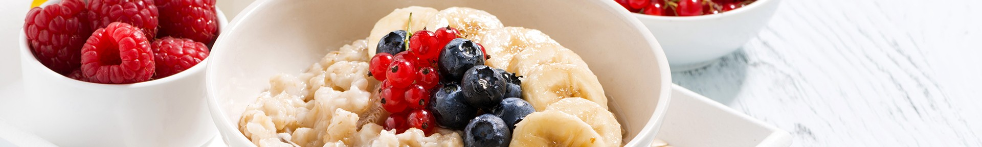 berries and creme oatmeal