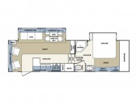 2003 Cardinal 29WB Floor Plan