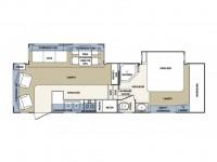 2003 Cardinal 29WB Floor Plan