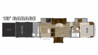 2018 Cyclone 4005 Floor Plan
