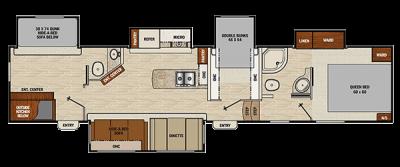 chaparral lite 371 floorplan