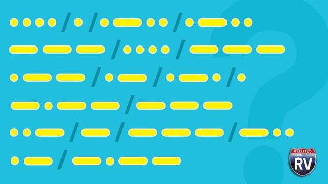 Hello In Morse Code