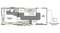 2019 Freelander MICRO MINNIE 20CB Floor Plan