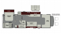 2019 Leprechaun 311FS FORD Floor Plan