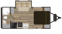 2019 Shadow Cruiser 195WBS Floor Plan