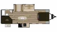 2019 Shadow Cruiser 282BHS Floor Plan