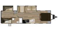 2019 Shadow Cruiser 313BHS Floor Plan