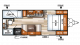 2019 Salem Cruise Lite 201BHXL Floor Plan
