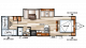 2019 Salem Cruise Lite 273QBXL Floor Plan