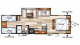 2018 Salem Cruise Lite 282QBXL Floor Plan