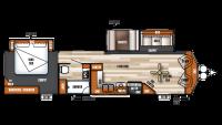 2019 Salem Villa Classic 353FLFB Floor Plan