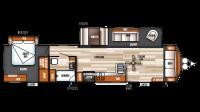 2019 Salem Villa Classic 39FDEN Floor Plan