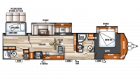 2018 Salem Villa Classic 426-2B Floor Plan
