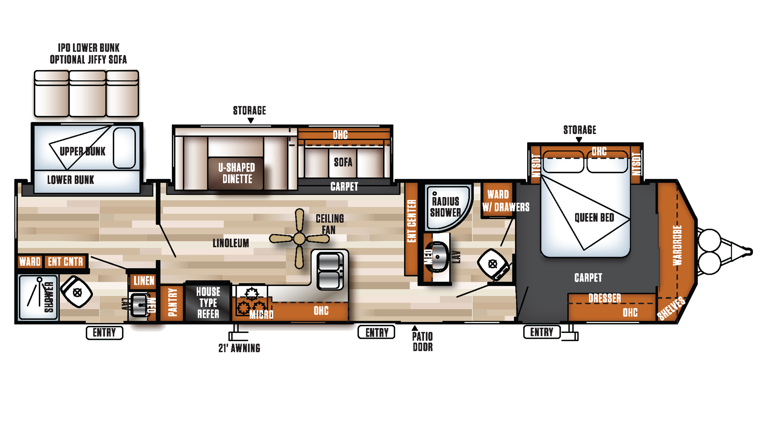 Photo Salem Travel Trailers Floor Plans Images 100