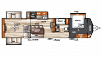 2019 Salem Villa Estate 395RET Floor Plan