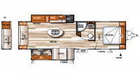 2018 Salem 27REI Floor Plan