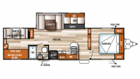 2019 Salem 30KQBSS Floor Plan