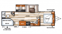 2018 Salem 27DBK Floor Plan