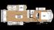 2018 Sandpiper HT 3250IK Floor Plan