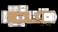 2019 Sandpiper HT 3250IK Floor Plan