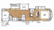 2018 Sandpiper HT 3275DBOK Floor Plan
