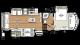 2018 Sandpiper 343RSOK Floor Plan