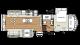 2018 Sandpiper 354RET Floor Plan