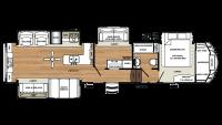 2018 Sandpiper 371REBH Floor Plan
