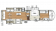 2018 Sandpiper 378FB Floor Plan