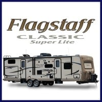 Get the best price on a Flagstaff Classic Super Lite travel trailer at Gillette's Interstate RV!