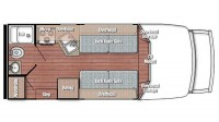 2020 BT Cruiser 5210 Floor Plan