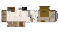 2018 Bighorn 3270RS Floor Plan