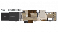 2018 Cyclone 4151 Floor Plan